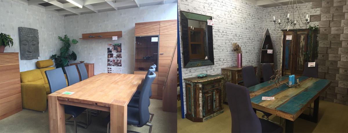 Tische modern und Altholz