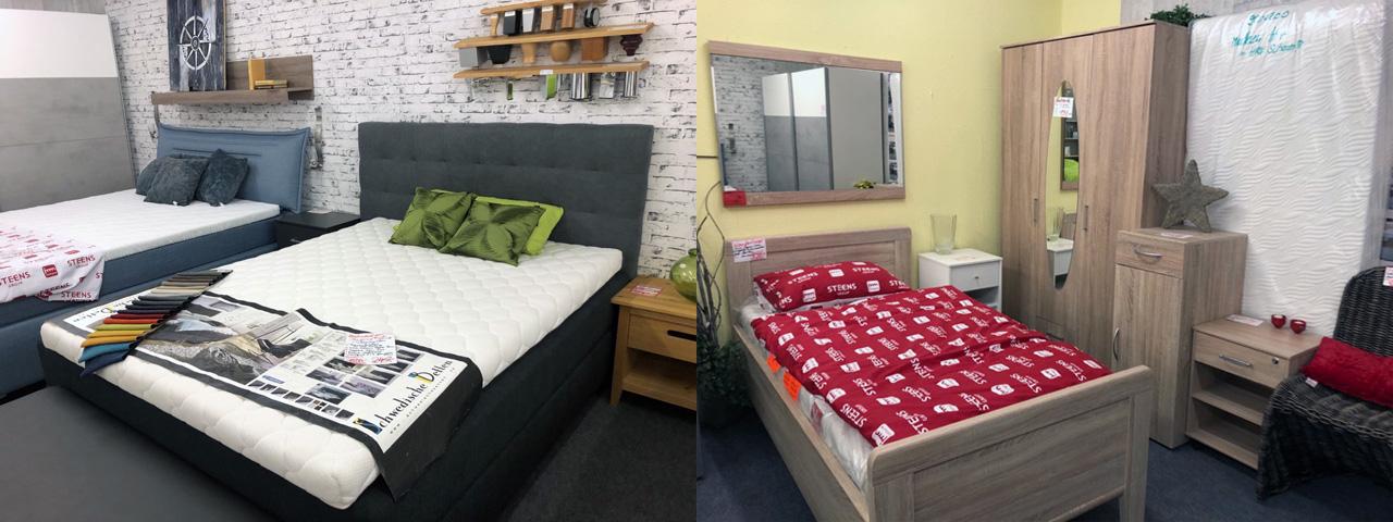 Bett und Boxspringbett